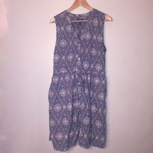 Gap L summer dress